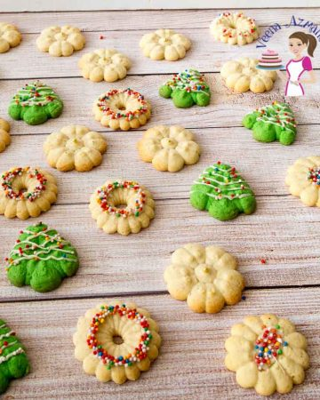 Learn how to use the cookie press and make the best spritz sugar cookies every single time