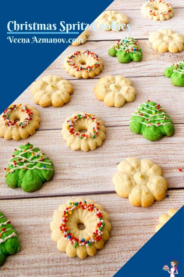 Pinterest Image for Christmas Cookies