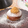 Learn to make wonderful Jewish Doughnuts filled with Dulce De leche cream