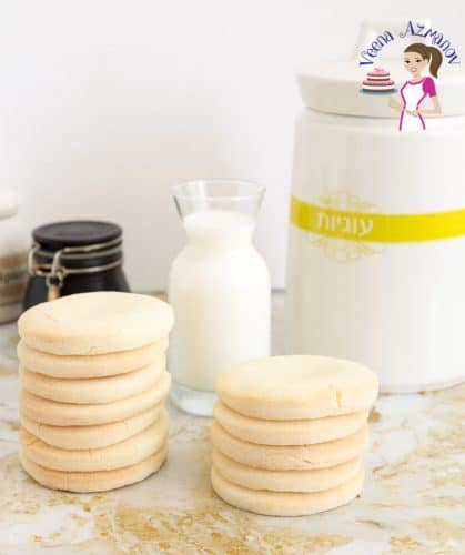 These are the perfect gluten-free sugar cookies made with rice flour
