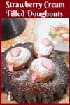 How to make the best hanukkah doughnuts with strawberry cream