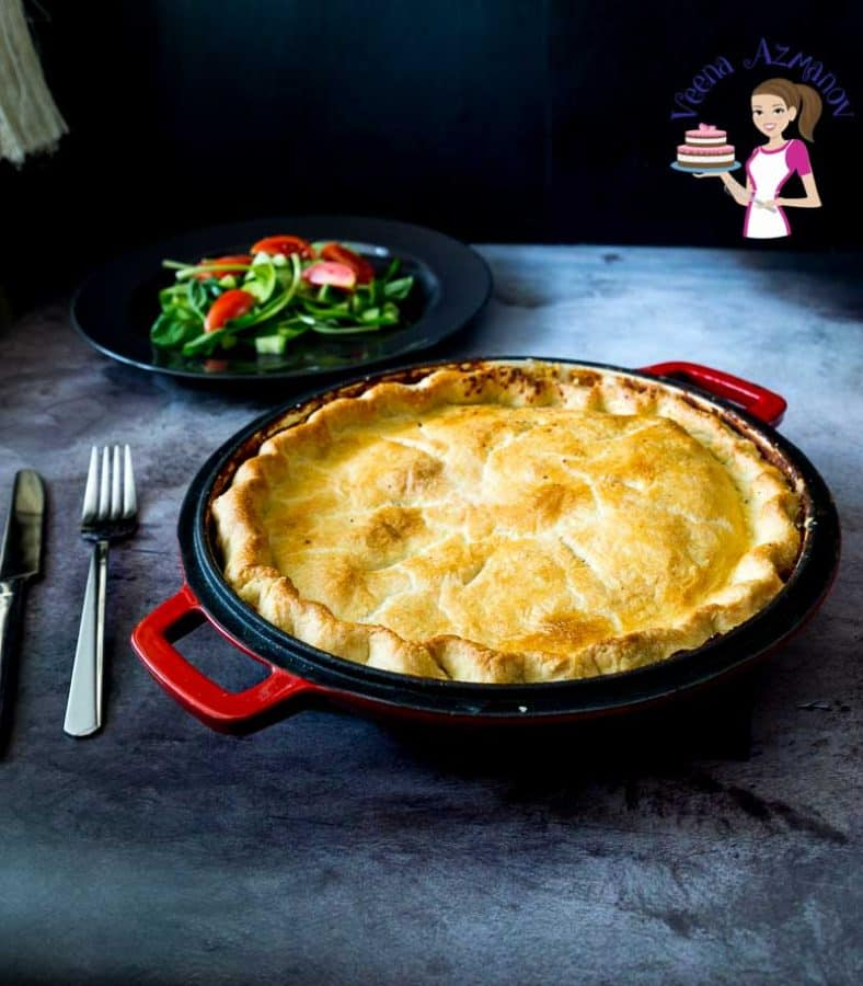 How to Make a Chicken Soup Cottage Pie with Top Crust