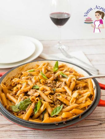 How to cook a Italian pasta dish in 15 mins with ground beef