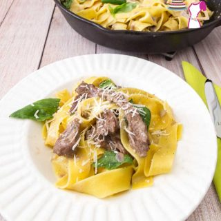 How to make a Italian pasta dinner in just 15 minutes with lamb
