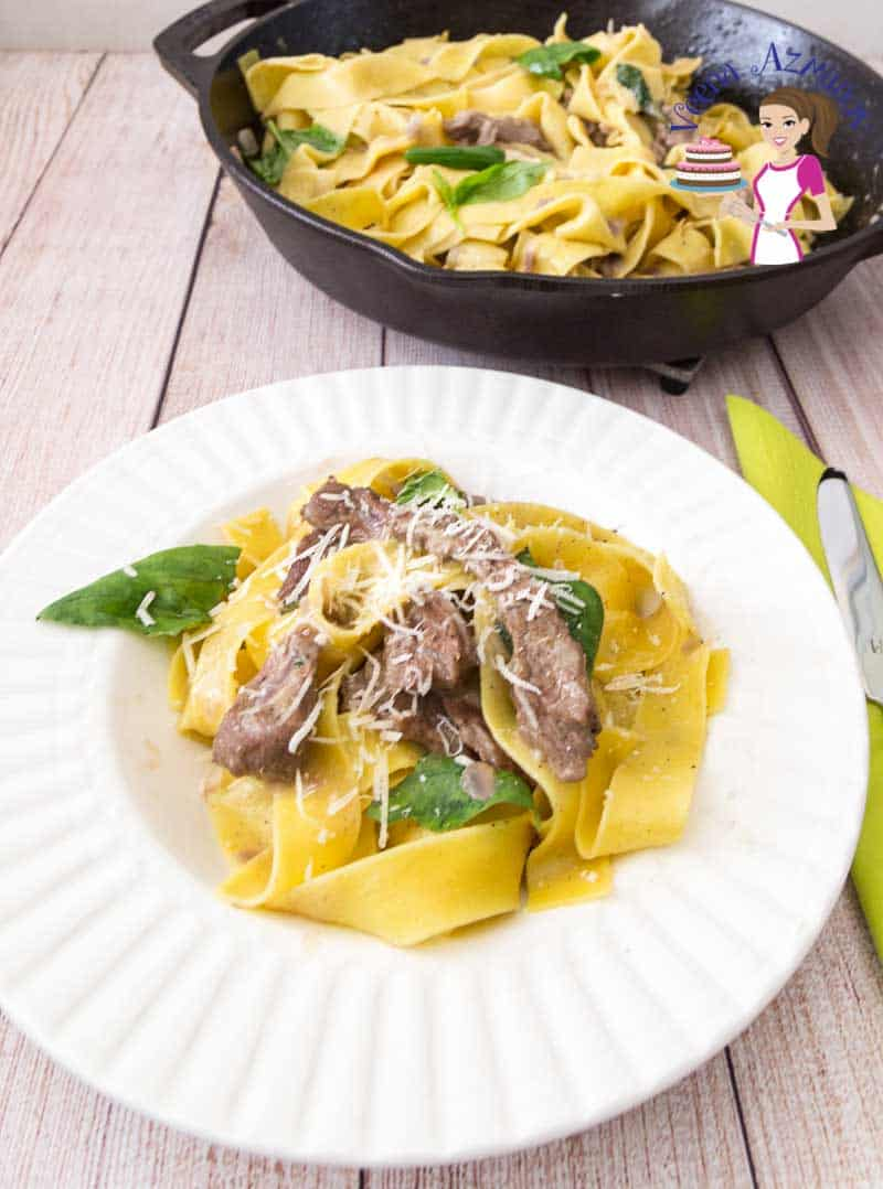 Pappardelle Pasta with Lamb