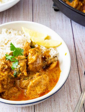 How to Make a Classic Indian Chicken Recipe with Greek Yogurt and Spices.
