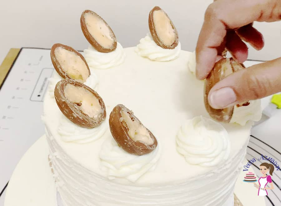 Easter Cake Recipe with Cadbury Creme Eggs