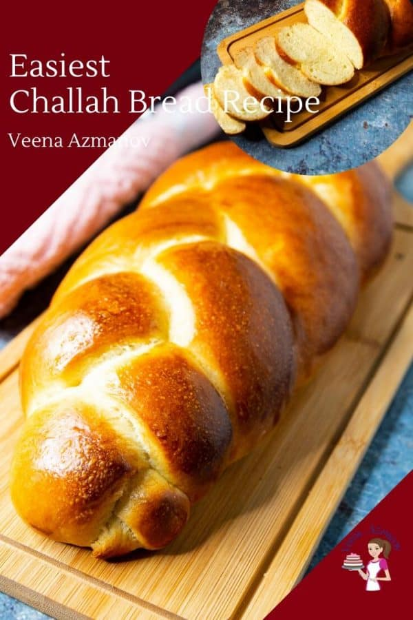 Homemade Jewish Bread Recipe for Friday called Challah