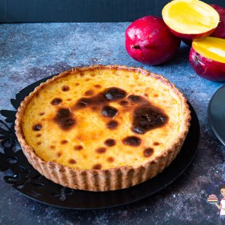 How to make homemade flan with mango or custard baked with mango puree