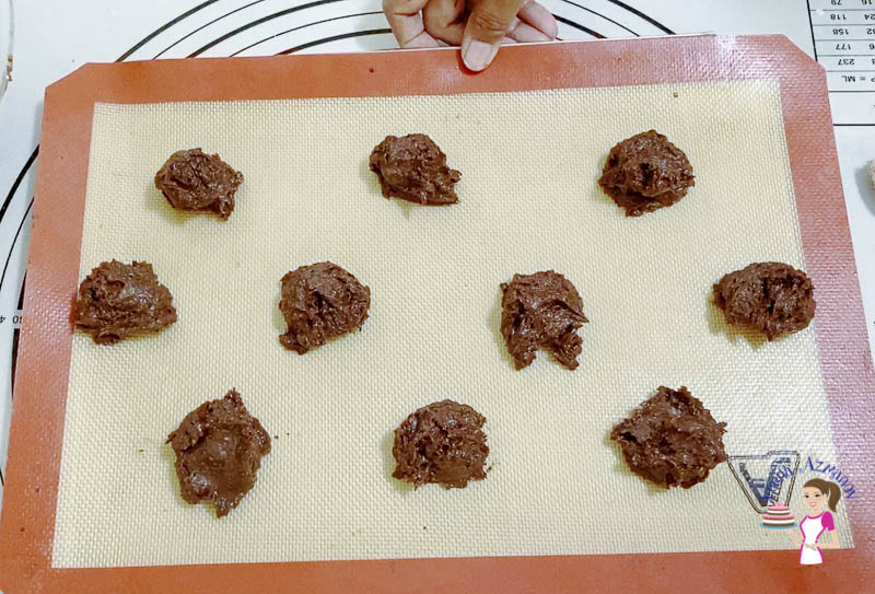 Bake the cookies for 12 minutes