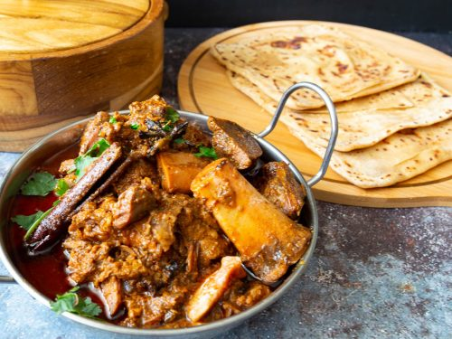 Easy Indian Curry made with Lamb and coconut milk