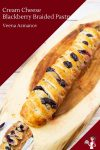 Easy puff pastry filled with almond cream and jam