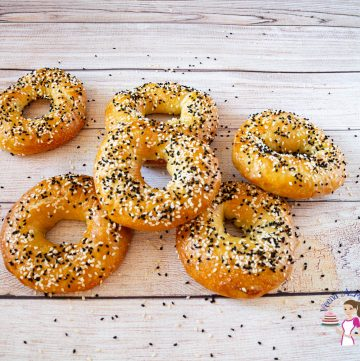 how to make bagels at home with everything for seasoning