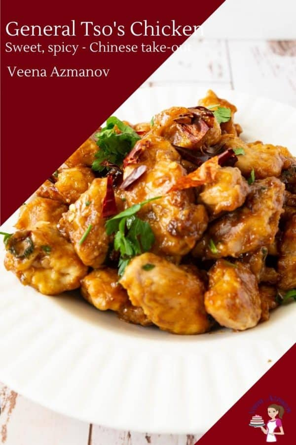 General's Tso's famous Chinese take out chicken recipe in 30 mins