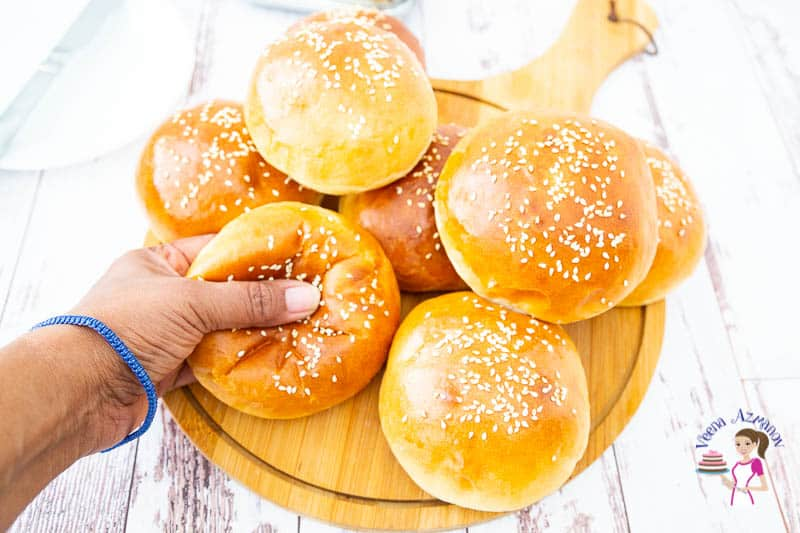 Soft, light and airy as the cloud Japanese Milk Buns with Tangzhong