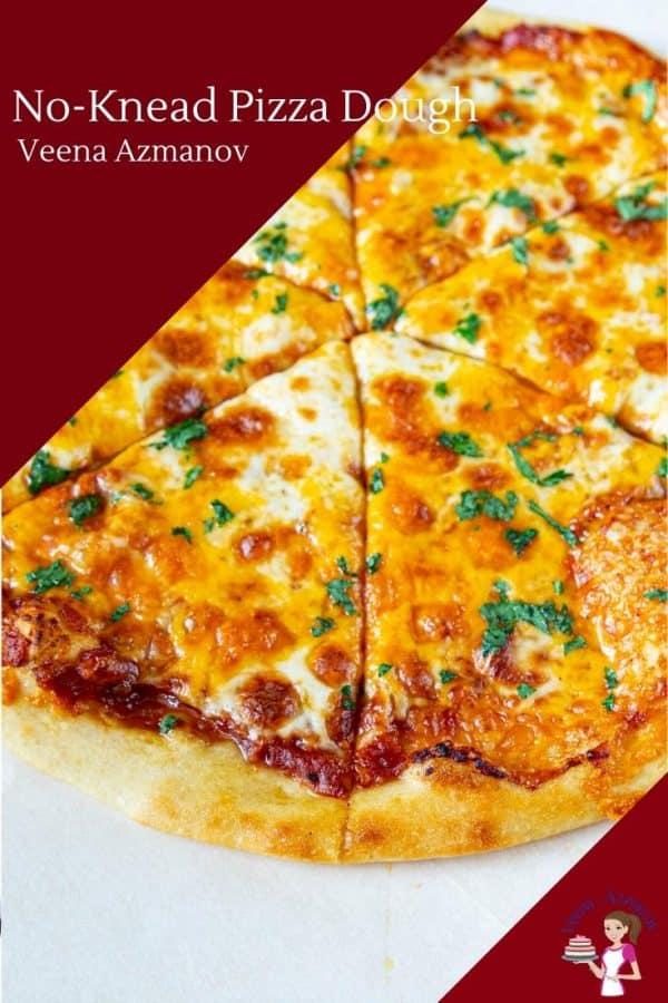How to make homemade pizza with a no-knead dough recipe