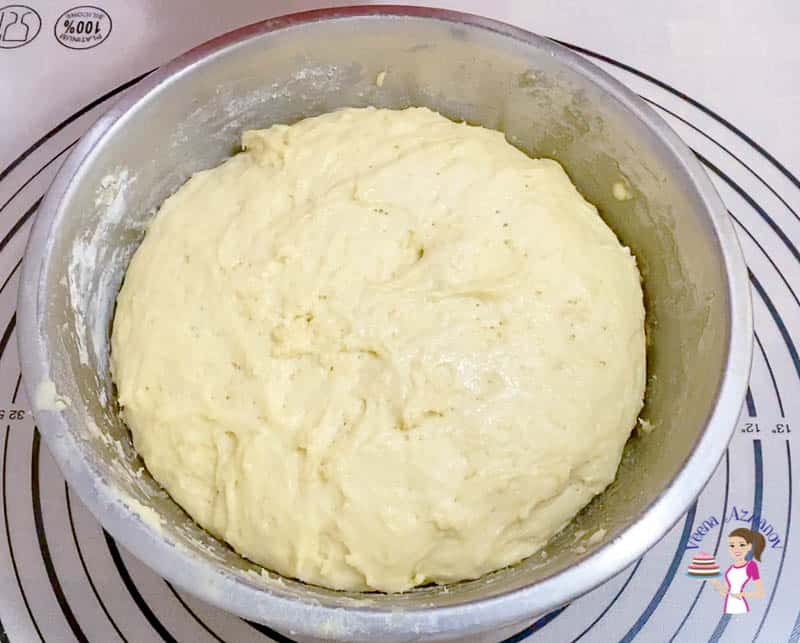 Chill the crescent dough for an hour in the fridge