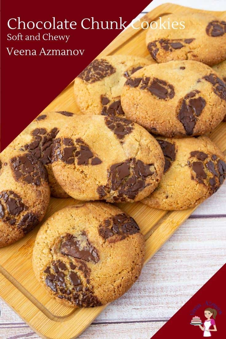 How to make homemade cookies from Scratch with chunks of chocolate