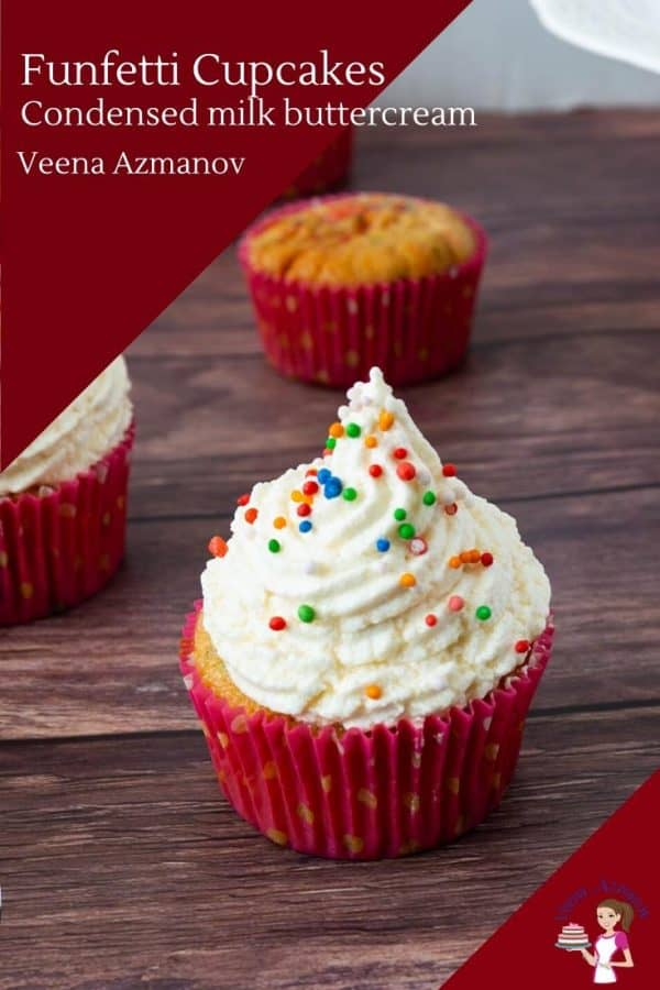 How to make homemade cupcakes with funfetti sprinkles