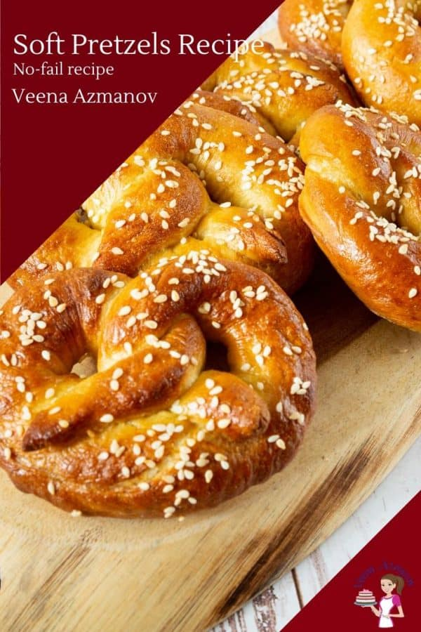 How to make easy pretzels at home with my step by step recipe