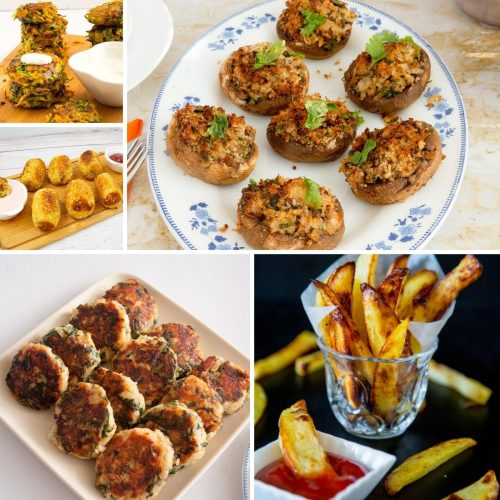 Homemade Appetizers from scratch