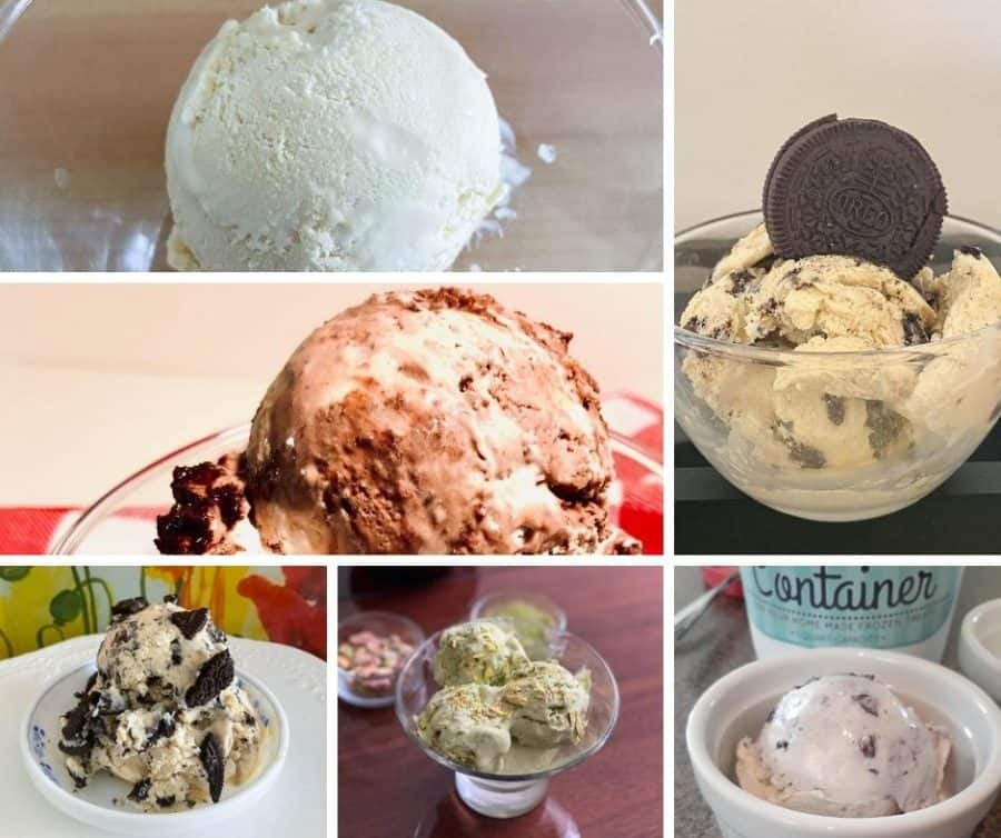 How to make a No Churn Ice Creams - Veena's Cooking and Baking Challenge