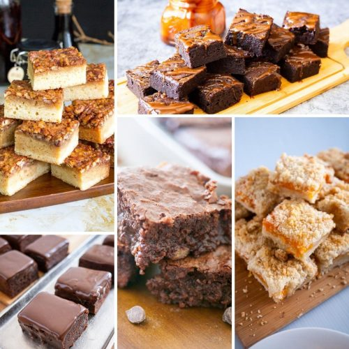 How to make bars, squares, blondies, brownies recipes