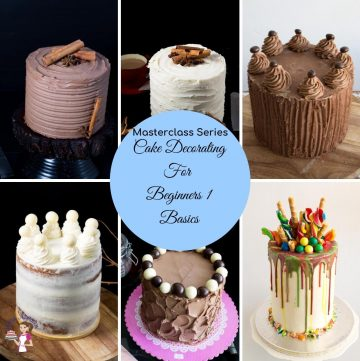 How to decorate a cake Masterclass for Beginners