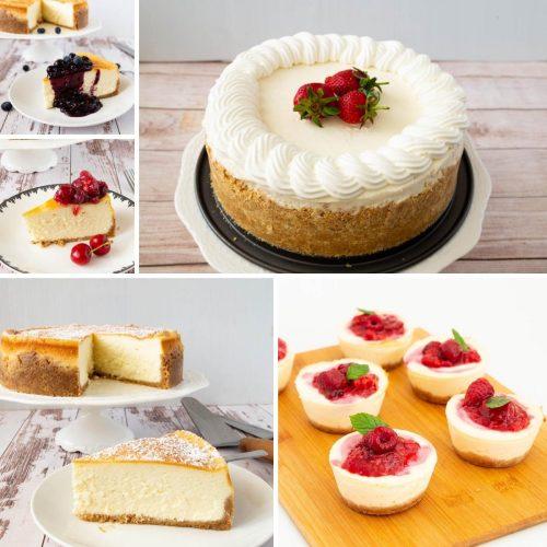 Homemade Cheesecake Recipes, baked, no-bake, minis and tarts