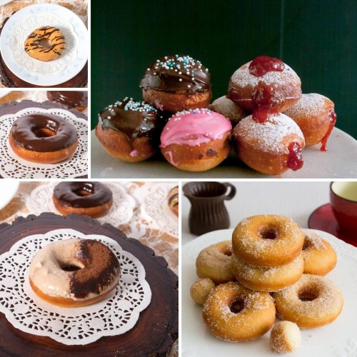 Donuts, Doughnuts and Sufganiyot Recipes