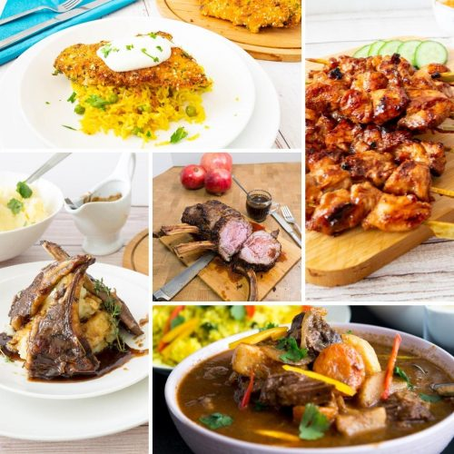 How to cook a main course, chicken, beef, lamb or fish