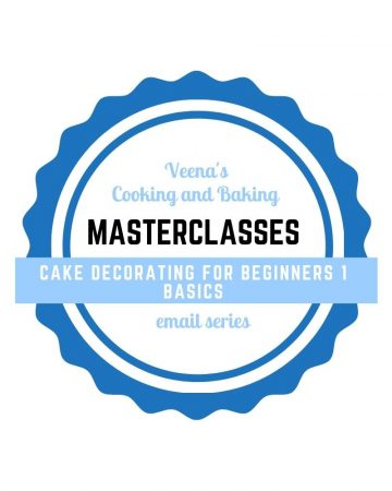 Logo of Masterclasses for cake decorating for beginners.