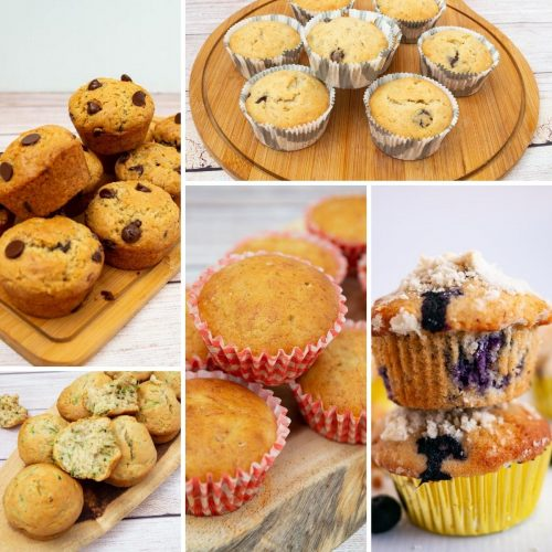 Muffins Recipes for Breakfast Brunch and Snack