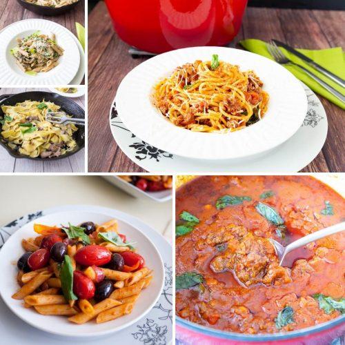 Easy homemade pasta recipes