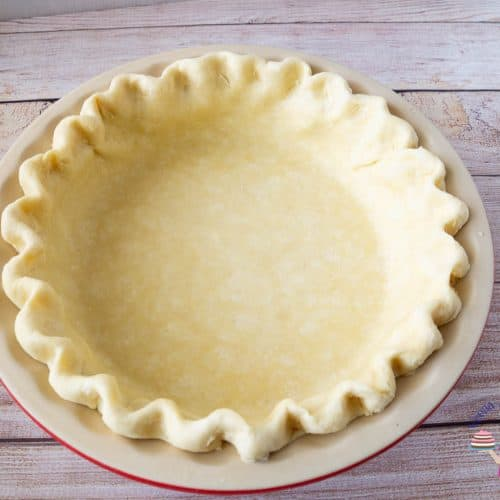 Easy All Butter Pie Crust Recipe from Scratch