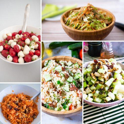 Easy Homemade Salad Recipes