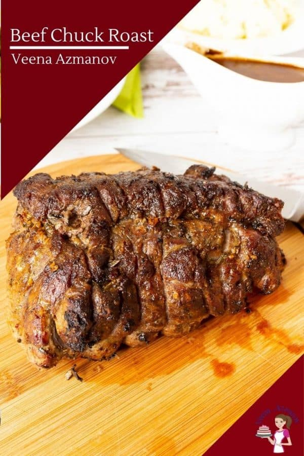 How to make roast beef at home using beef chuck cut.