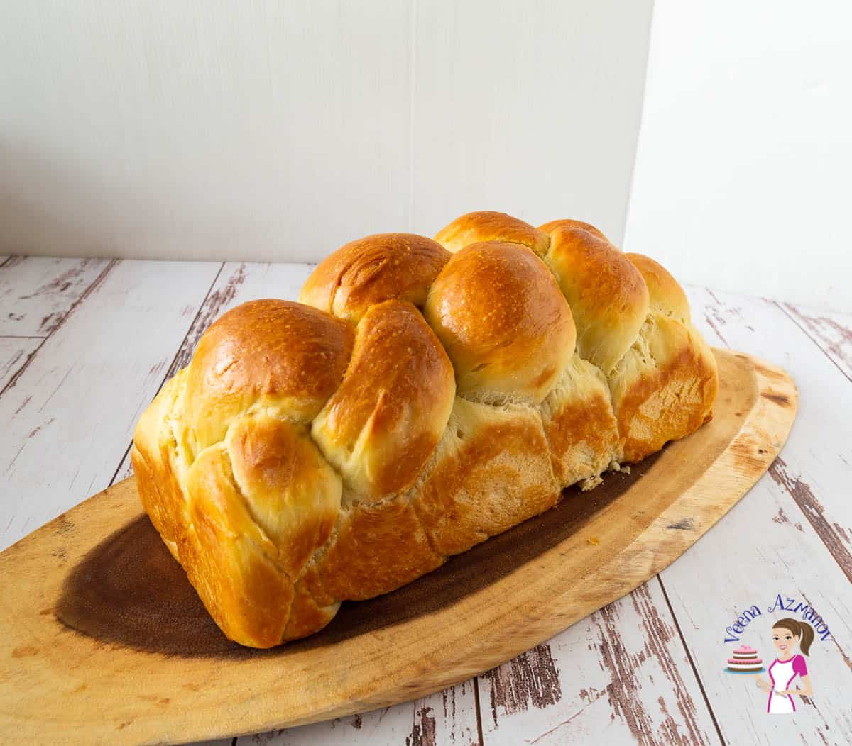 Challah Sandwich Bread Veena Azmanov