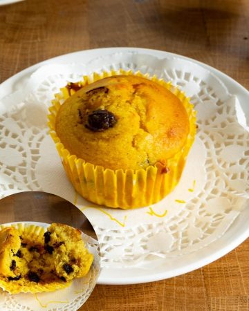 How to make pumpkin muffins with chocolate chips