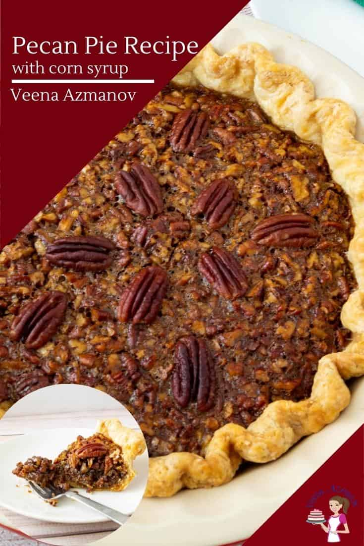 This is the classic pecan pie. A homemade all-butter pie crust and a filling made with brown sugar, corn syrup, molasses, and lots of pecans. The perfect make-ahead dessert for festive occasions such as Thanksgiving or Christmas #pecanpie #pecan #classic #piewithpecans #bestpecanpie #easypecanpie  via @Veenaazmanov