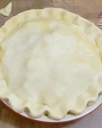 How to make a double all butter pie crust recipe