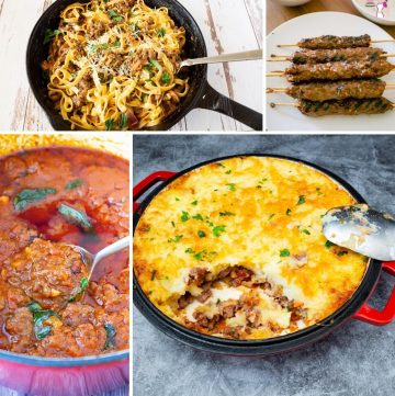 What do cook with ground beef, 25 recipes to try.