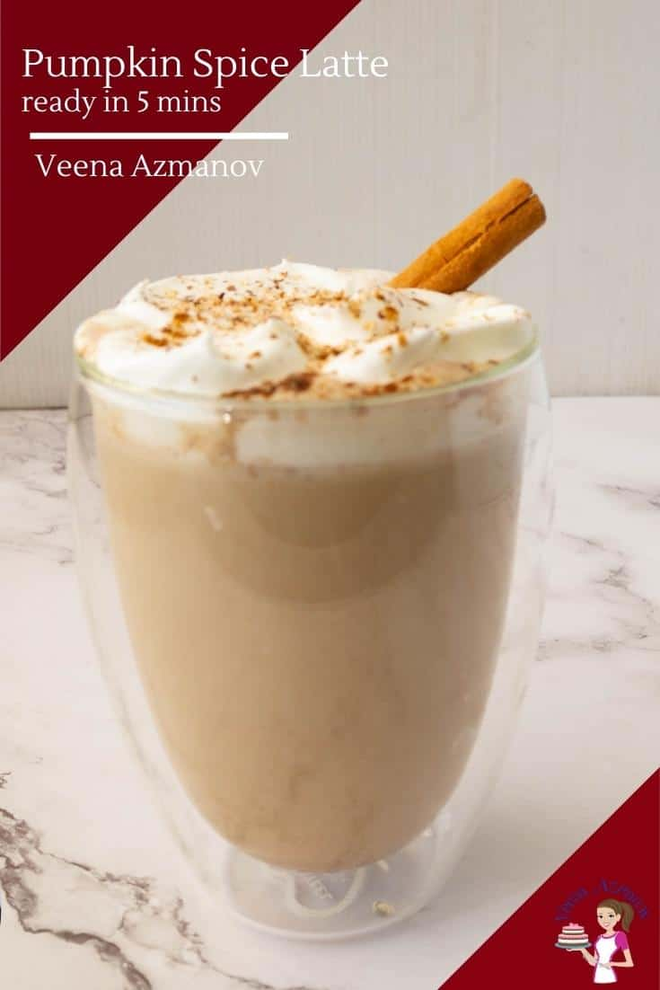 This pumpkin spice latte takes just 5 minutes and a few pantry staples. No more standing in long coffee shop lines. Best of all its homemade delicious made with coffee, milk, pumpkin puree, pumpkin spice, and honey #laltte #pumpkinspice #pumpkinspicelatte #pumpkinlatte #pumpkin #fall #falldrink #hotdrinks #fallhotdrinks #winter #winterdrinks #winterspice via @Veenaazmanov