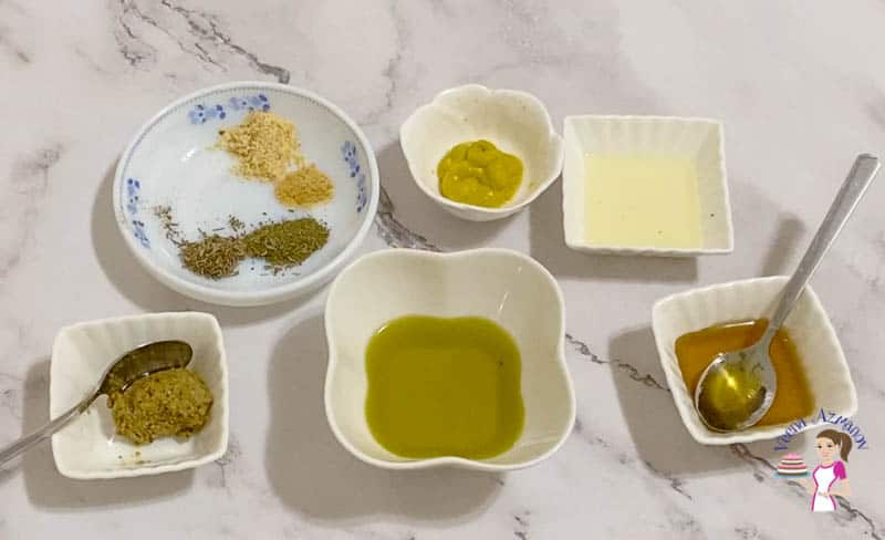 Combine all the marinade ingredients in a bowl