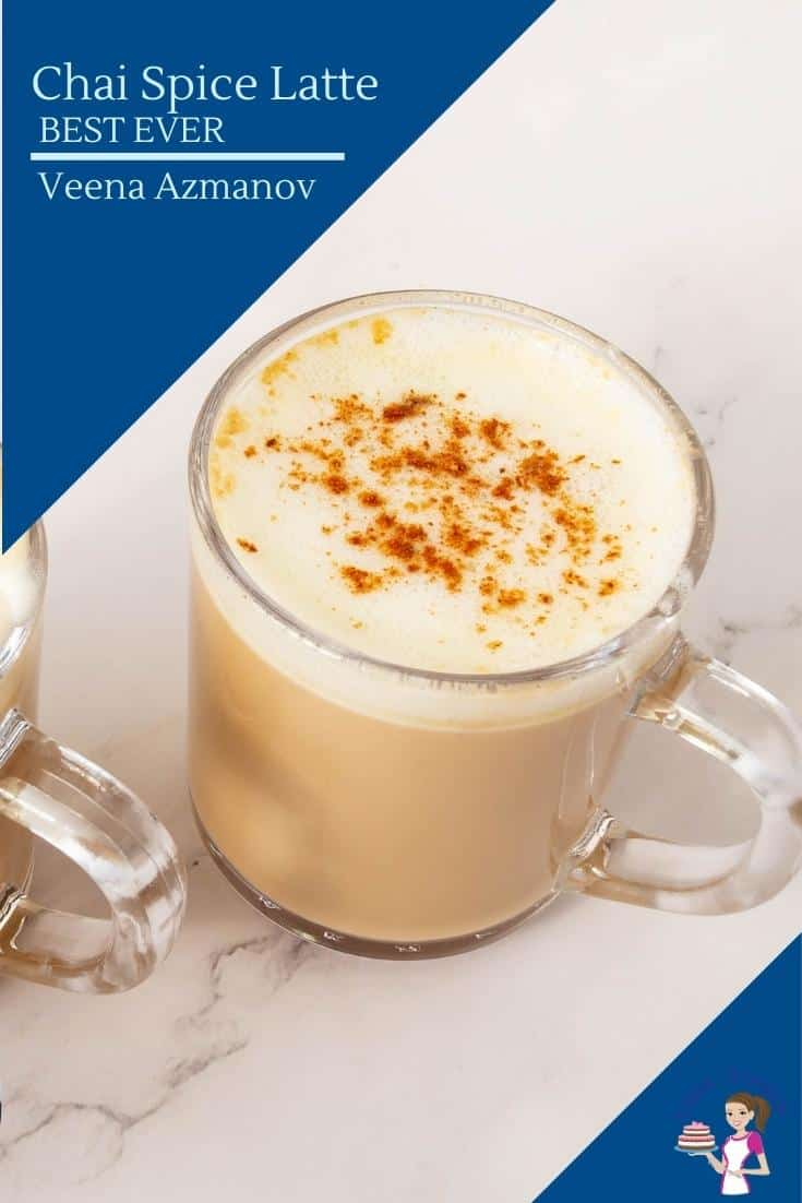 A cup of Latte with cream and cinnamon