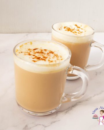 How to make a latte with chai spice and teabags