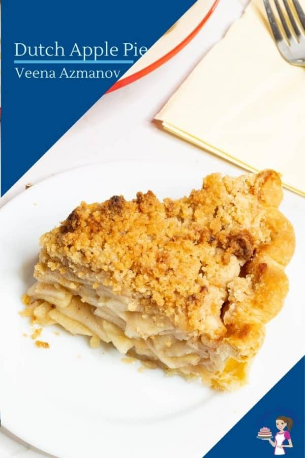 How to make a pie with homemade crust, apple pie filling and crumble topping