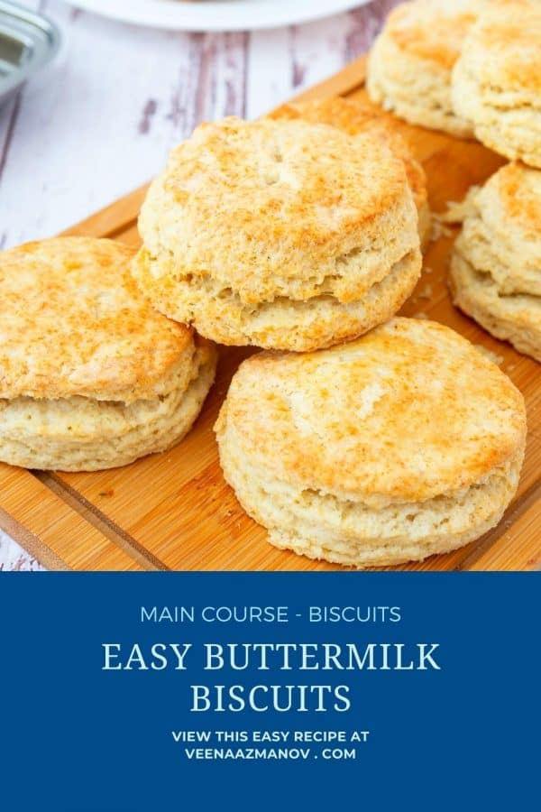 Pinterest image for biscuits.