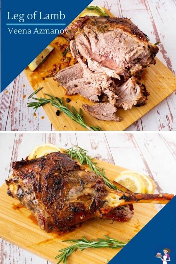 How to make a perfect roast lamb leg or shoulder