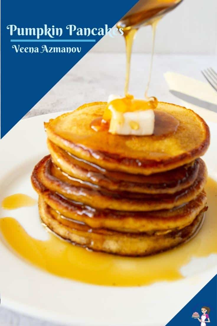 Image to share on pinterest for pancakes